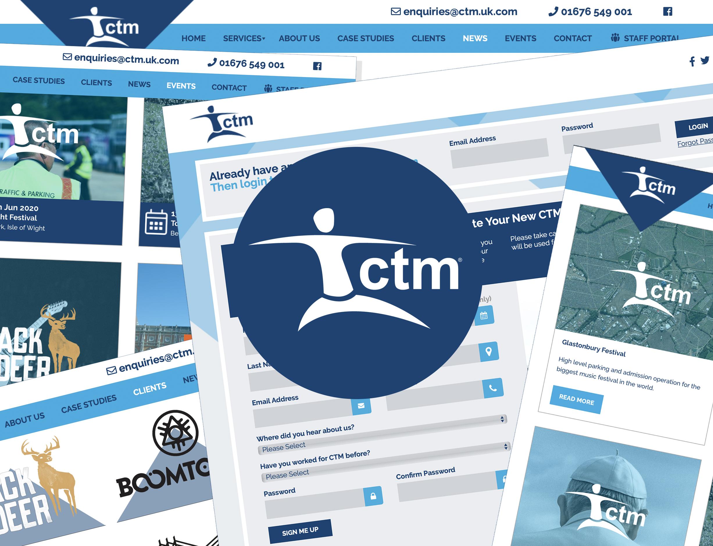 CTM new website